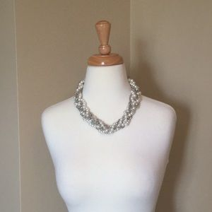 NWT NECKLACE SUGARFIX BAUBLEBAR SILVER PEARL